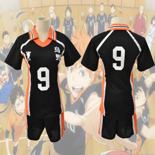 Karasuno Shyouyou High School Uniform Cosplay Costume Unisex New Anime Haikyuu!