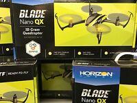 Pack Of 2 Blade Nano Qx Quadcopter Bnf Usa Super Fast Free Shipping