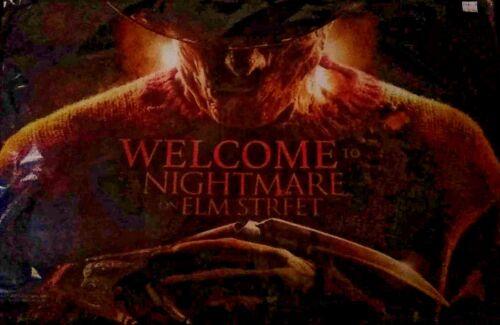 """WELCOME TO NIGHTMARE ON ELM STREET FREDDY KRUEGER DOOR MAT 28/""""x18/"""" HALLOWEEN cns"""