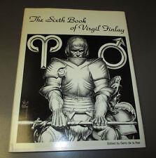 1980 The SIXTH Book of VIRGIL FINLAY HC/DJ VF+ #5 SIGNED Gerry De La Ree 128 pgs