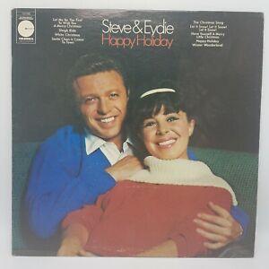 Steve Lawrence & Eydie Gorme - Happy Holiday Christmas Album Columbia 10198 VG+