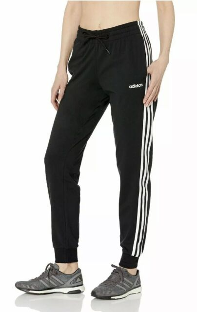 adidas Women's Essentials 3-stripes Pants Ab3 Black Dp2377 Medium ...