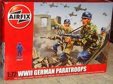 AIRFIX - WORLD WAR II GERMAN PARATROOPS  PLASTIC MODEL FIGURES KIT - 1:72