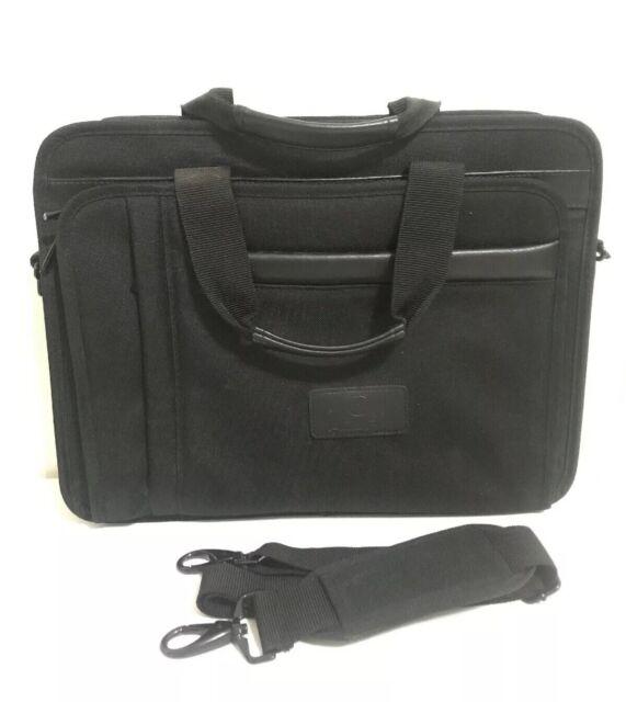 "Black Genuine Acura 16x12"" Laptop Office Bag With Shoulder"