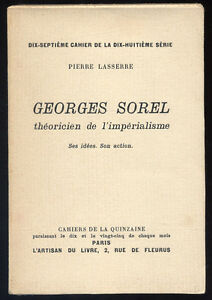 PIERRE-LASSERRE-GEORGES-SOREL-THEORICIEN-DE-L-039-IMPERIALISME-IMPRIME-SUR-ALFA
