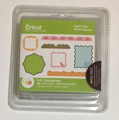 Cricut Cartridge Borders Frames Book Style- Brand New Sealed ELEGANT EDGES