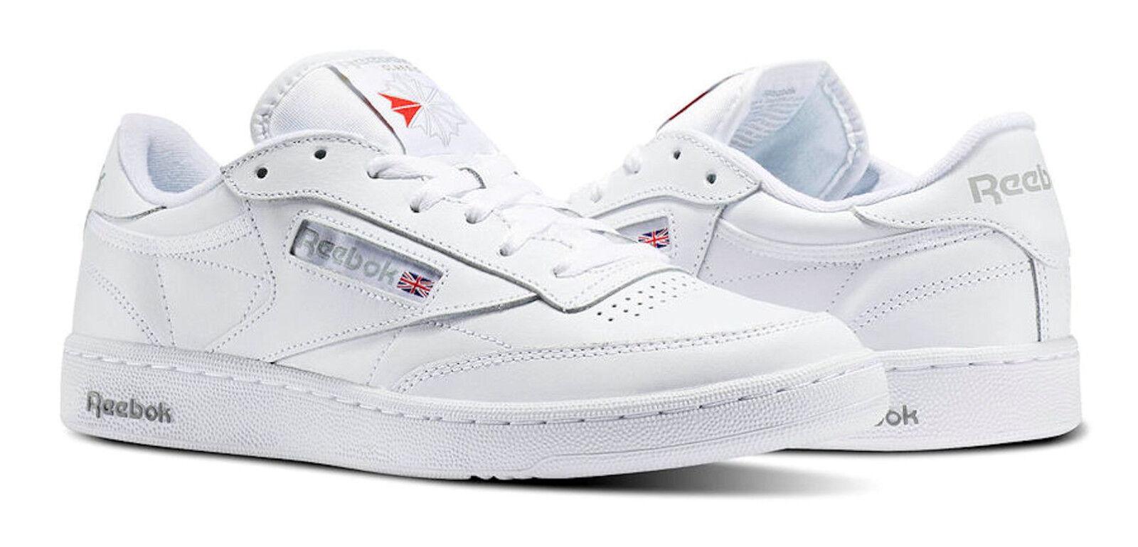 Reebok Classic Club C 85 Tg Steel Carbon Gum Mens 13 Shoes Sneakers Bd1886 For Sale Online Ebay