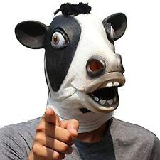 Azornic Deluxe Novelty Halloween Costume Party Latex Animal Head Mask Horse head