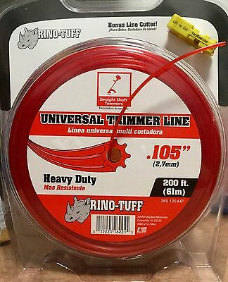 Rino-Tuff Universal 0.105 in. x 200 ft. Round Shaped Trimmer
