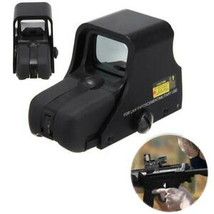 Outdoor-Red-Green-Dot-Tactical-551-Airsoft-Scope-Riflescope-Holographic-Sight