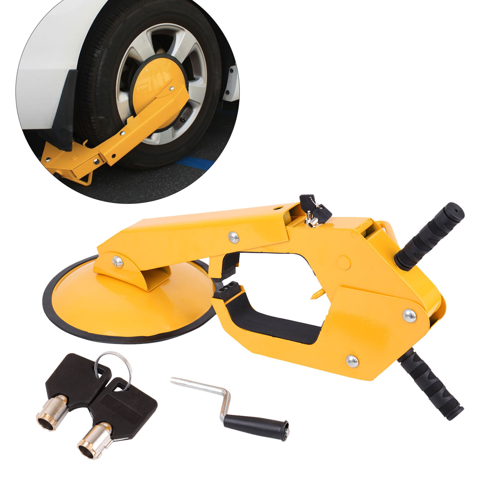 Wido CAR CARAVAN WHEEL CLAMP SECURITY MOBILE HOME LOCK TRAILER ANTI THEFT