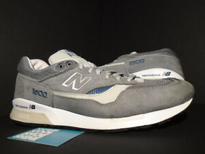 2010 NEW BALANCE CM1500SB 1500 JAPAN CO.JP STELLAR GREY BLUE STEEL ... 5dde9c826