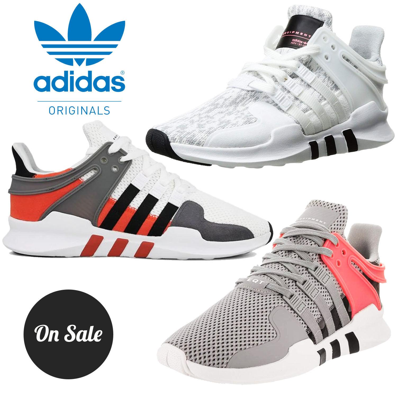 Nouveau Adidas Originals EQT ADV soutien Homme Running Fitness Trainer Chaussures RRP £ 125