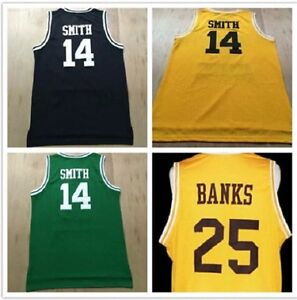 Fresh Prince Of Bel Air Jersey Will Smith 14 Movie Yellow Black ... 69a3f1efd
