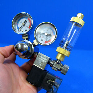 Aquarium-CO2-Solenoid-Regulator-Bubble-Counter-amp-Check-Valve-Plants-Fish-Tank