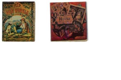 Dollhouse Miniatures 1:12 Scale Story Books 2Pk #IM65745