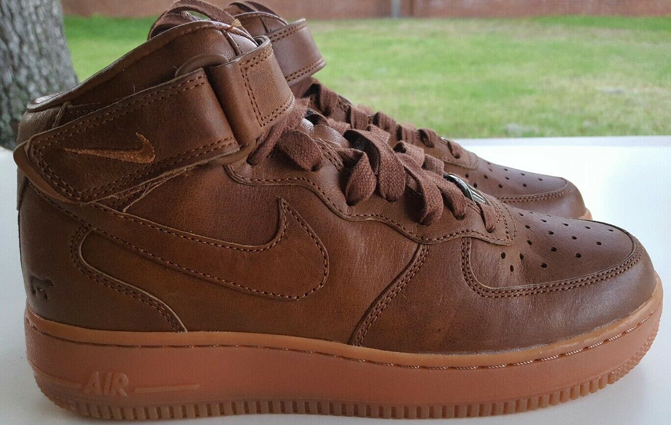 NIKE AIR FORCE 1 WILL PREMIUM LEATHER ID WMNS SIZE 8 921291-991