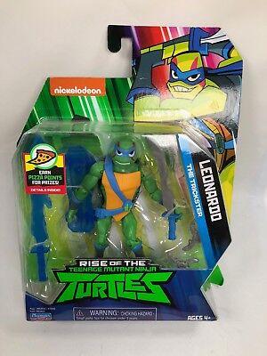 Rise of the Teenage Mutant Ninja Turtles Leonardo TMNT Action Figure NEW