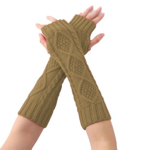 Armstulpen Pulswärmer Handstulpen Feinstrick Stulpen Handschuhe Gestrickt Strick