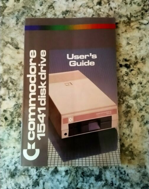 Vintage  Commodore 64 1541 Disk Drive Guide  Manual 1984 /1985 (324)