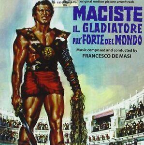 Francesco De Masi - Maciste il gladiatore più forte del mondo - Cd - Digitmovies