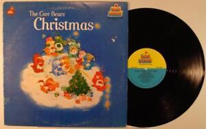 The-Care-Bears-Christmas-LP-M-1983-Xmas-Kid-Stuff-KSS-5040-original