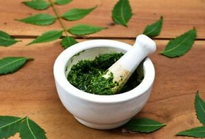 Details about निम Fresh Neem Leaves 50g Cure of Chicken Pox Acne Skin &  medical use Neem Leaf