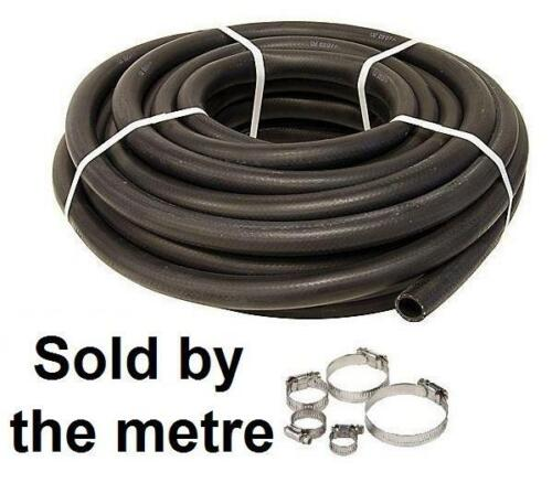 """Jubilee Hose Clips 10mm 3//8/"""" Car Heater Hose Replacement Black 1 Metre Pipe"""
