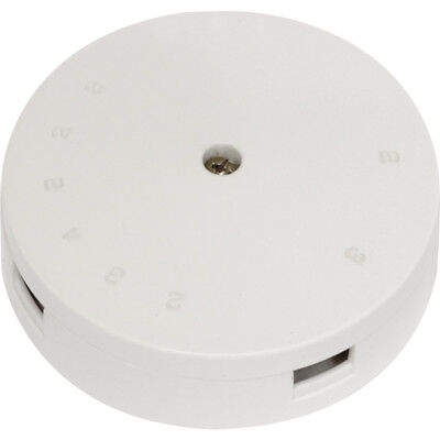 Deta 20a Connector Box 6 Terminal Junction Cable Mains Electrical Joiner White