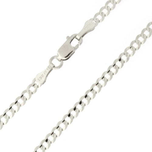 """Beauniq Solid 14k Yellow//White Gold Comfort Cuban Curb 2.6mm Chain Anklet 10/"""""""