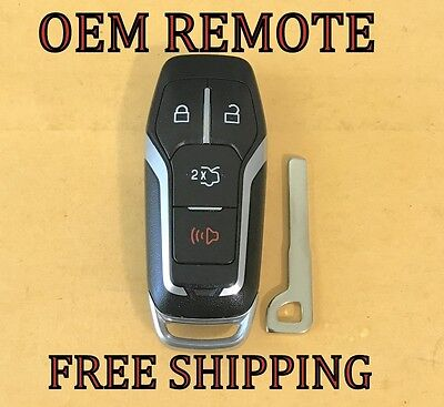 2 Smart Prox Insert Emergency Key Blade for Ford Fusion Explorer Expedition Edge