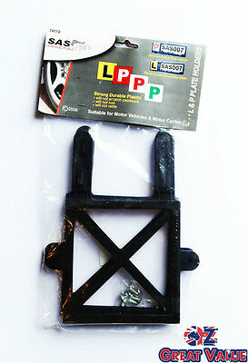 2pcs L & P Plate Holder | Strong & Durable | Bendable arms to fit most vehicles