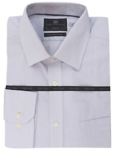 86016e944cd9 M&S MENS Luxury Long Sleeves Shirts LILAC Pure Cotton Regular Fit ...