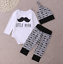 9-12 12-18 18-24 Months old Little Man Baby Vest Grow Pants And Hat 6-9