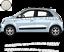 pour-Twingo-Bandes-Zebres-Stickers-adhesifs-pour-renault-couleur-au-choix miniatura 3