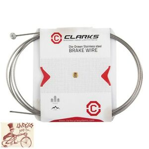 Twenty Road Bicycle Stainless Steel SLICK  Brake Inner Wire Cable 1.6 mmx2000mm