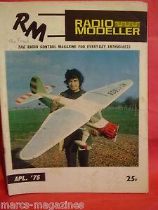 AIRCRAFT-BOAT-RADIO-MODELLER-APRIL-1975-MINI-SNARK-GRAUPNER-MAXI-CAMBRIA-CAPSTAN