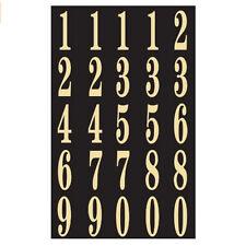 "4 HY-KO MM-4N Black /& White 3/"" Numbers Stick On Adhesive 26PC ~ New"