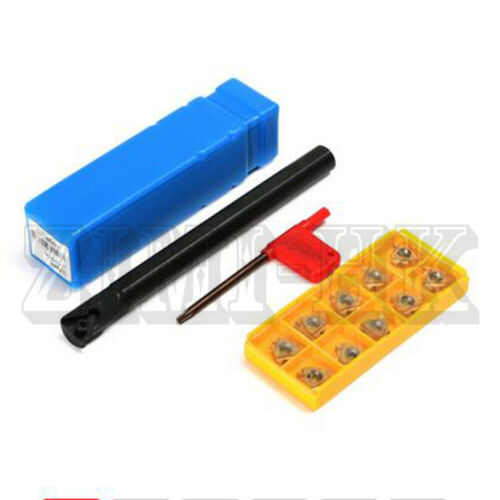 10pcs 16 IR inserts SNR0013M16 13×160mm CNC Lathe Threading Turning Toolholder