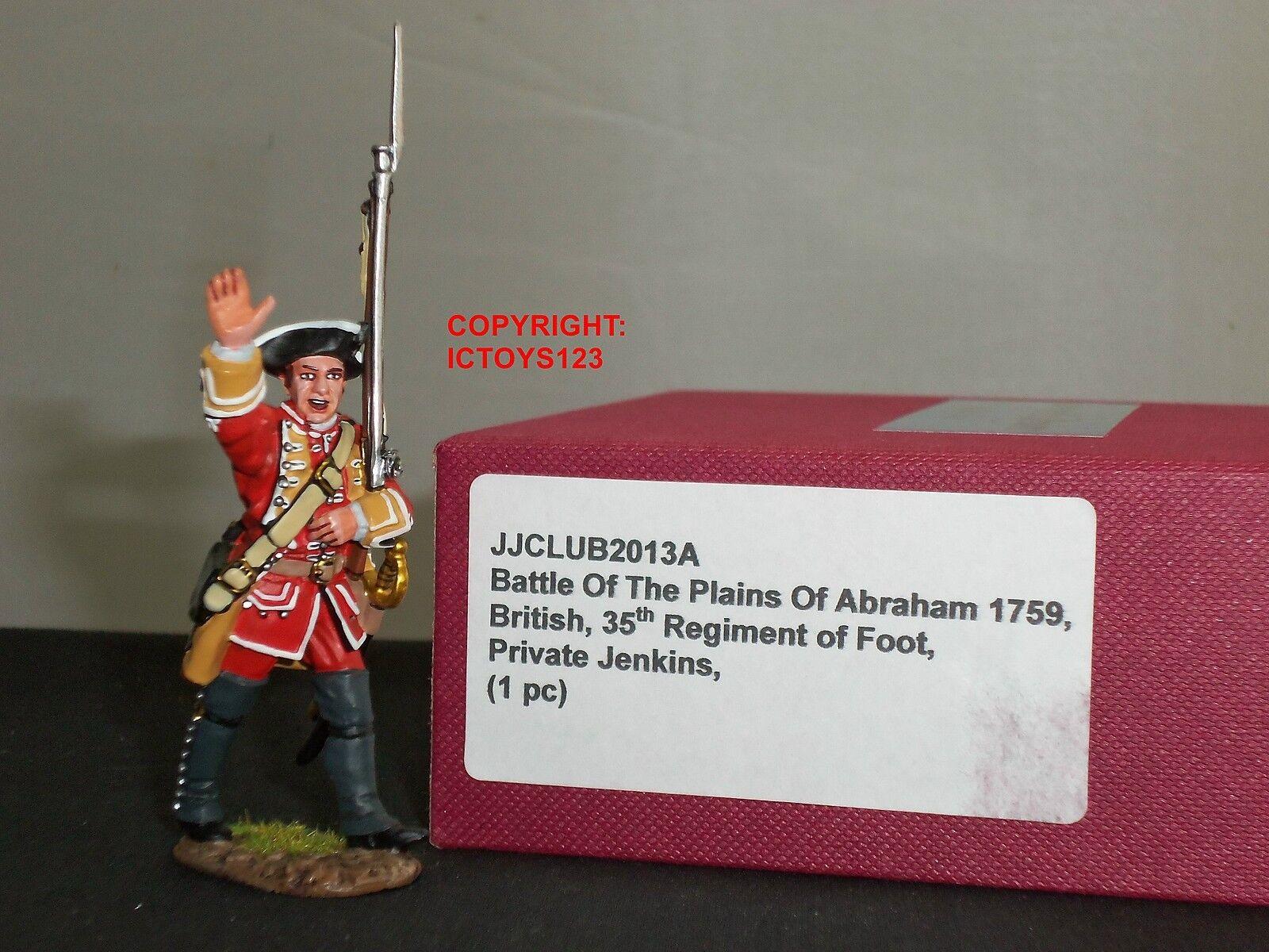 JOHN JENKINS JJCLUB2013A PRIVATE JENKINS BRITISH 35TH REGIMENT METAL TOY SOLDIER