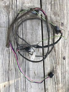1963 1964 Chevy Impala Tail SS Light Wiring Harness ...