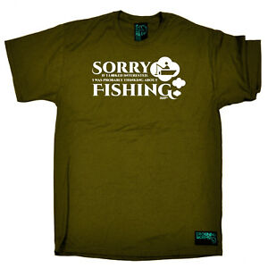 Fishing-T-Shirt-Funny-Novelty-Mens-tee-TShirt-Sorry-If-I-Looked-Interested-Fis