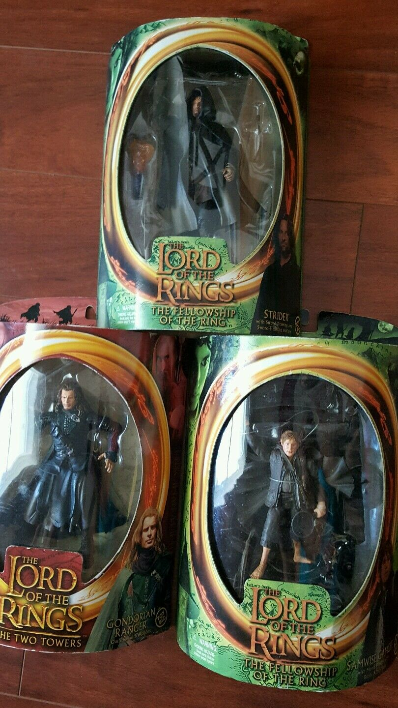 Lord of the rings lot of 3 action figures