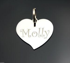Custom-Engraved-Personalized-Stainless-Steel-Teardrop-Heart-Dog-Tag-Pet-ID-Name