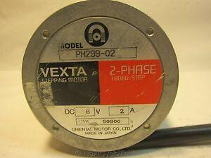 Vexta ph299 02 stepping motor 2 phase 1 8 deg step ebay Vexta 2 phase stepping motor