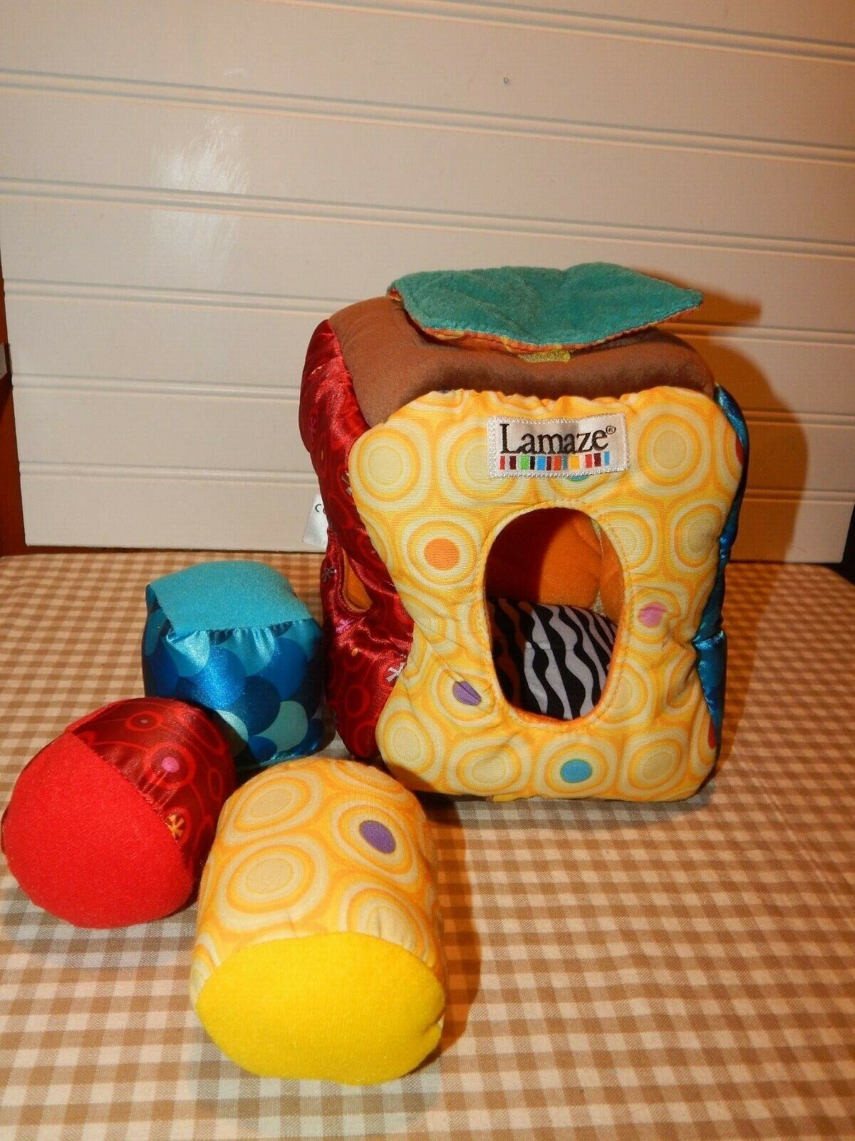 Lamaze Giggle Bunny Ball Soft Textures Silly Sounds For Sale Online Ebay