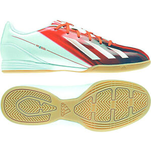 Detalles de Adidas f10 en messi zapatos botas de fútbol indoor talla 42 46 rojo blanco de fútbol nuevo ver título original