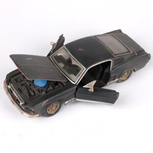 1-24-1967-FORD-Mustang-GT-Do-Old-Vintage-Diecast-Model-Car-Toy-Xmas-Gifts