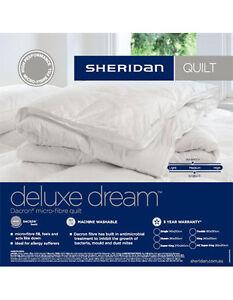 Image Is Loading Sheridan Deluxe Dream Quilt Doona Duvet Single Double
