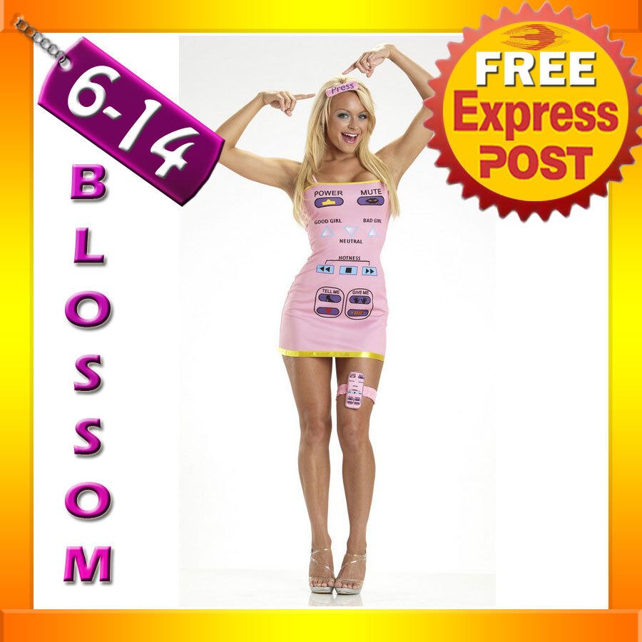 B84 Sexy Remote Control Hen Humour Fancy Dress Costume